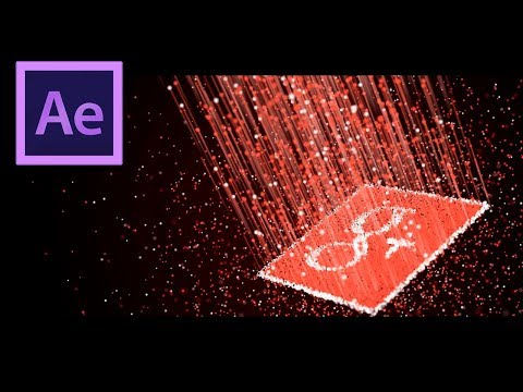 3D Particle Logo Animation in After Effects - After Effects Tutorial - Trapcode Particular