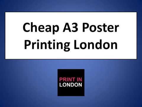Cheap A3 Poster Printing London - Print In London