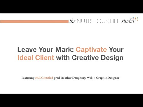 Leave Your Mark: Captivate Your Ideal Client with Creative Design