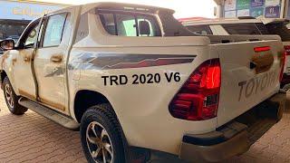 هايلكس 2020  TRD سته سلندر مكينة لاندكروزر