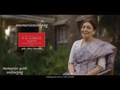 PNG TVC | Memories with PNG & Sons | P N Gadgil & Sons Online TVC