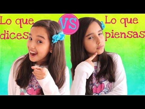 LO QUE DICES vs LO QUE PIENSAS - Gibby :)