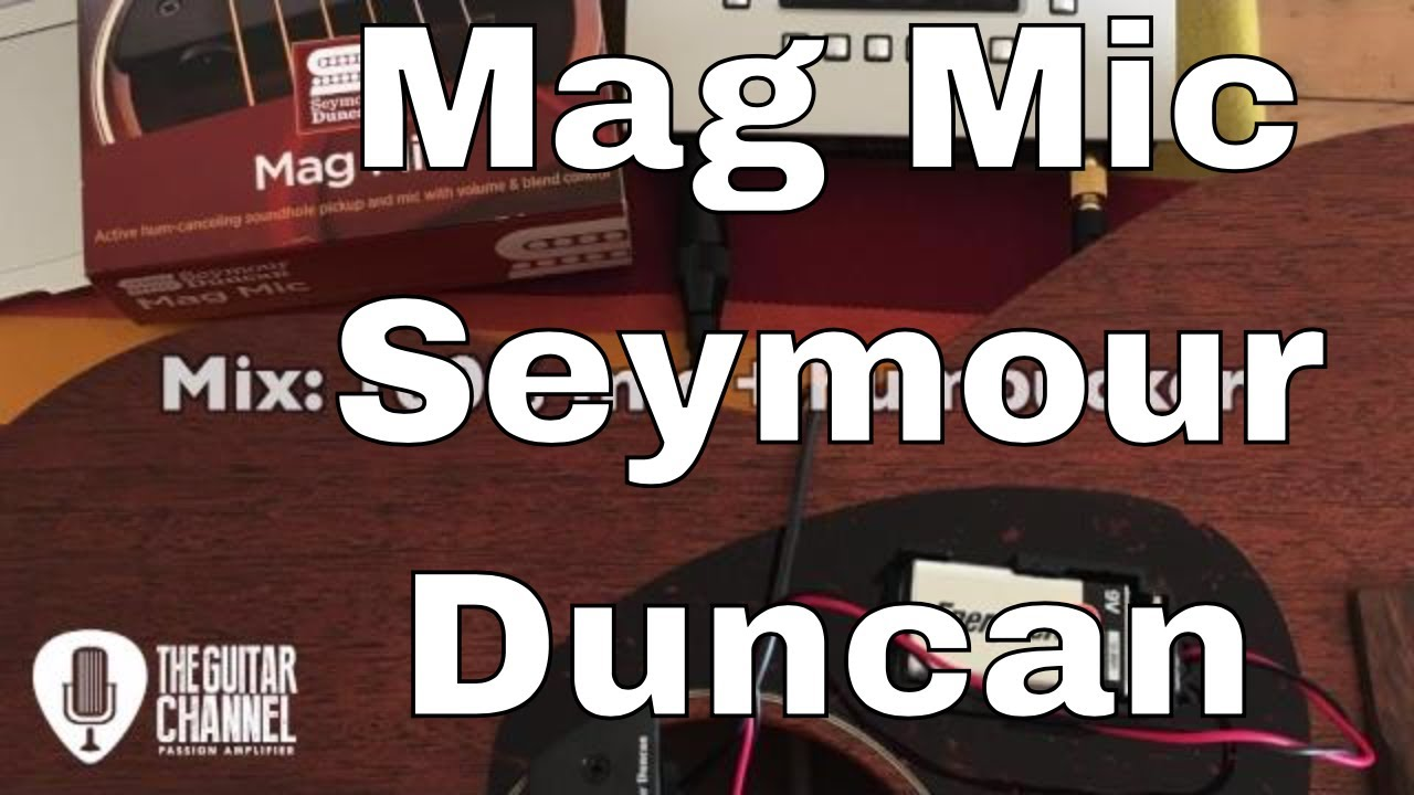 hight resolution of gear review the seymour duncan mag mic system for acoustic guitar realistic mic wiring diagram duncan mag mic wiring diagram