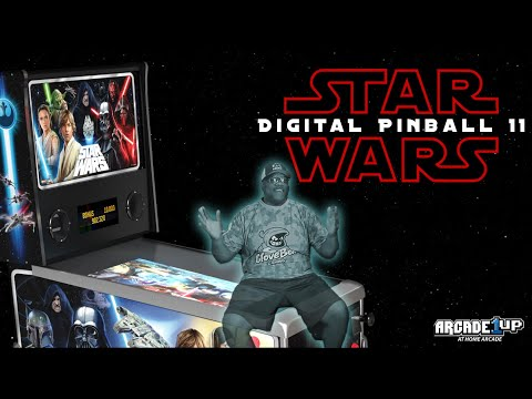 Arcade1Up Star Wars Pinball Unboxing from GloveBox Gaming