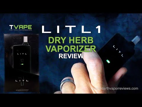 TVAPE | LITL 1 | Dry Herb Vaporizer | Review