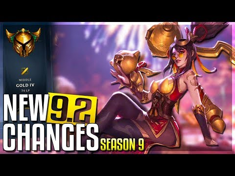 IRELIA MINI-REWORK & JUNGLE CHANGES - New Patch 9.2 Changes (Early Look) | LoL