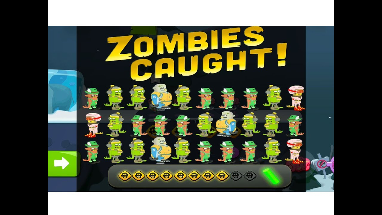 New Zombie Catchers Level 75 77 Youtube