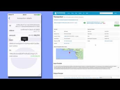 Blockchain/Bitcoin for beginners 5: Bitcoin wallets, how to transfer bitcoins using BreadWallet iOS