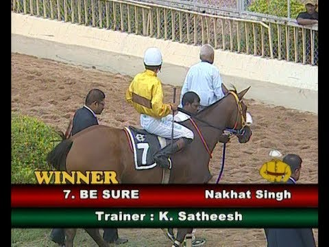 Be Sure with Nakhat Singh up wins The Look of Eagles Plate 2018