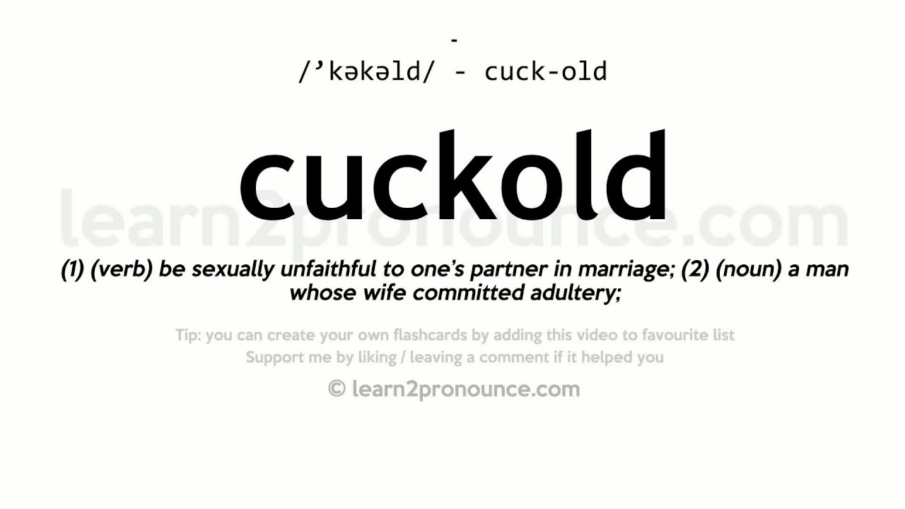 definition of cuckhold
