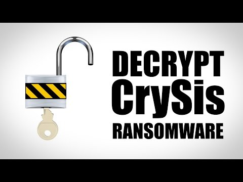 Decrypt CrySis Ransomware for Free! free Download :popular-software.com
