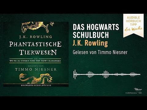 Phantastische Tierwesen und wo sie zu finden sind: Gelesen von Timmo Niesner YouTube Hörbuch Trailer auf Deutsch