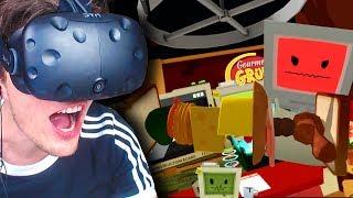 ICH KOMME INS FERNSEHEN! ✪ JOB SIMULATOR Virtual Reality