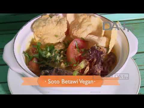 Soto Betawi Vegan, The Crispy Potato Stacks   DAAI TV, tayang 13 Januari 2018