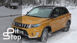 Suzuki Vitara 2018 - In The Snow And Mud