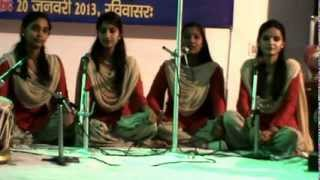 Sanskrit Patriotism Song Competition 20 January 2013 (Sunday) video 3