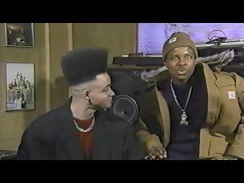 Kid N' Play  1990 Slammin' Rap Video Magazine