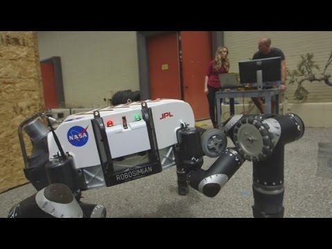 Robots helping search-and-rescue teams save lives