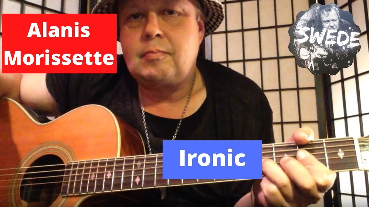 Alanis Morissette Ironic Guitar Lesson Youtube