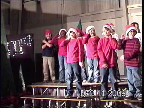 Albany Lower Elementary School Christmas 2009.mp4