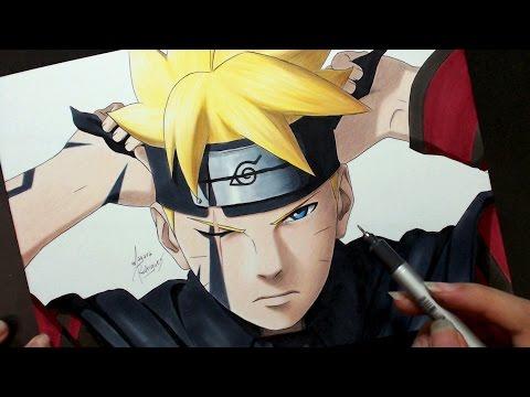Speed Drawing - Boruto Uzumaki (Boruto: Naruto Next Generations)