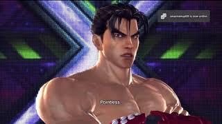 Tekken Tag Tournament 2 Jin Kazama intro poses 1
