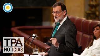 Mariano Rajoy quedó al borde de la destitución | #TPANoticias