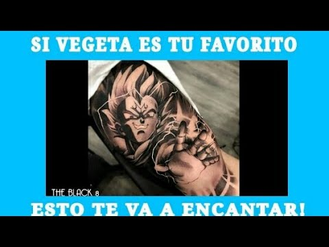 Vegeta Mejores Tatuajes Youtube