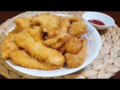 부드럽고 바삭바삭한 닭가슴살 튀김🍗ㅣSoft and crispy fried chicken breast