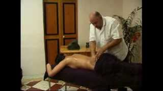 Quick Back Massage Demo. Jeremy Lanfranco MALTA
