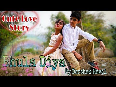 Cute Love Story | Bhula Diya - Darshan Raval | Heart Touching Love Story |Sad Love Story |True Love