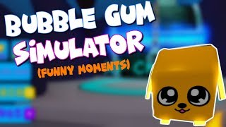 Creepy Player, Magical Summer Pets, and Max Height! | Roblox Bubble Gum Simulator (funny moments)