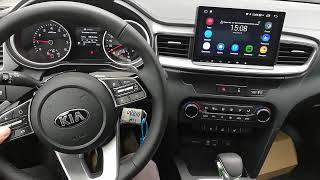 Головное устройство на android NaviPilot Droid8 KIA CEED 2019!