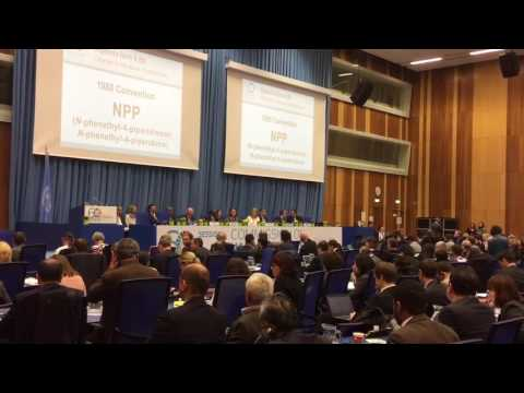 UN Commission on Narcotic Drugs NPP vote result