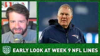 NFL Week 9 Picks, Early Look at Lines, Betting Advice | Pick Six Podcast