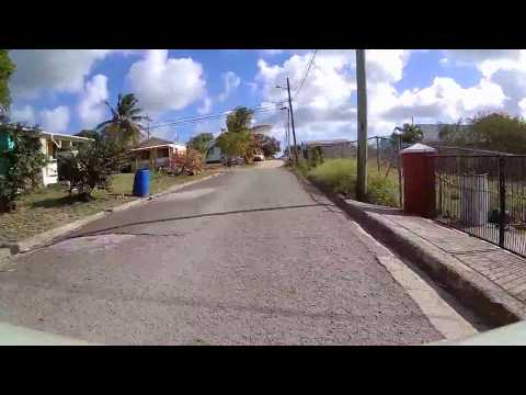 Driving in Antigua - Barnes Hill to Sea View Farm
