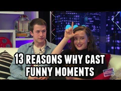 13 Reasons Why Cast Funny Moments