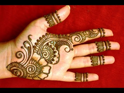 Simple Arabic Mehndi Art Designs For Hands 2018 New Latest Mehndi Designs Beautiful Henna On Hands