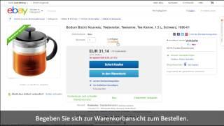 Wie kann man bei eBay etwas kaufen ?