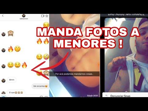 NATHAN VIRAL LE MANDA FOTOS A MENORES Y LAS CHICAS SALEN A DECIR LA VERDAD pruebas