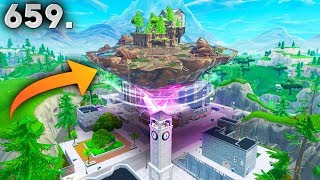 FLOATING ISLAND IS MOVING..?! Fortnite Funny WTF Fails and Daily Best Moments Ep.659