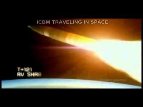 ICBM Flight simulation