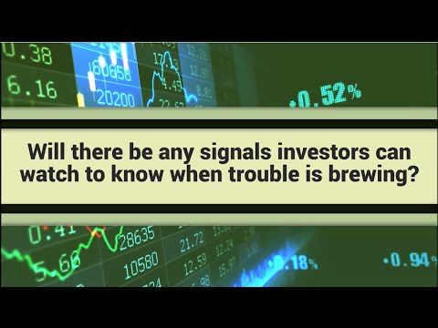 Watch for These 3 Stock Market Crash Signals