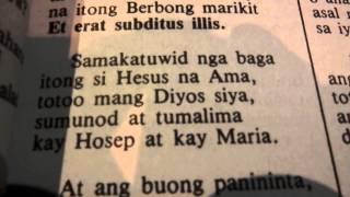 P2140553 ANG PAGBASA NG MAHAL NA PASYON NI HESUS