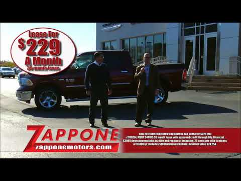 2017 RAM 1500 ONLY $229/mo | Black Friday Sales Event | Zappone CJDR | 12065 | 12832