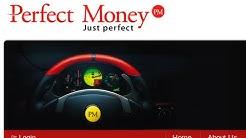 Perfect Money Registrierung Erfahrungen Testbericht deutsch