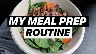 MEAL PREPPING & LIVING IN MY CAR