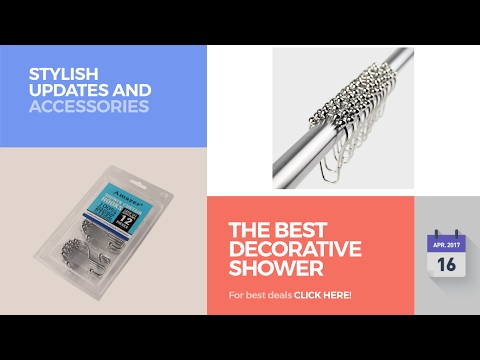 The Best Decorative Shower Curtain Hooks Stylish Updates And Accessories