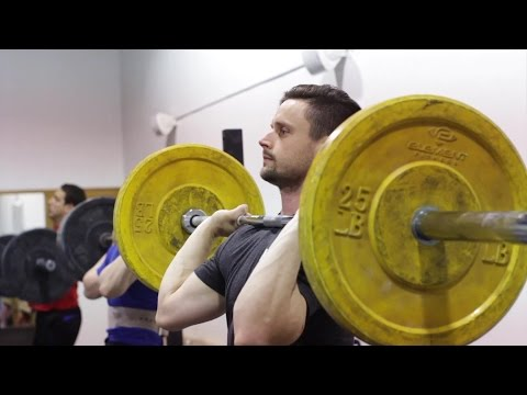 HOW TO SPLIT JERK (Olympic Weightlifting Ft. Bryan Marshall)