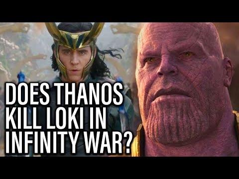 Does Thanos Kill Loki In Avengers Infinity War? - TJCS Companion Video